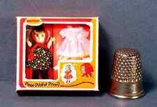 Dollhouse Miniature 1:12  Poor Pitiful Pearl Doll Box 1960s Dollhouse girl