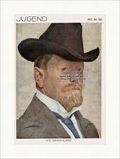 Titelseite der Nummer 50 von 1917 Otto Greiner Selbstbildnis Jugend 4141