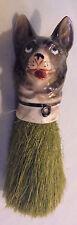 """German Shepherd Porcelan Brush, Wisk Brush For Clothes Germany 6.5"""" Long Vintage"""