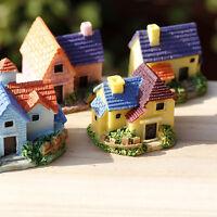 1 pcs Miniature Fairy Garden Cottage Craft Micro Terrarium House Accessories