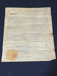 Thomas Jefferson James Madison Signed Autograph 1794 Land Grant BAS Beckett JSA