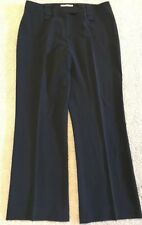 Irene Van Ryb silk black pants Gorgeous smooth NEW!
