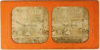 La Belle A Legno che Dorme Théâtre Foto Stereo PL54L3n10 Diorama Albumina c1870