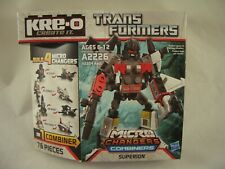 Transformers Kreon slipstrike MISP New Kreo Kre-o micro changeurs