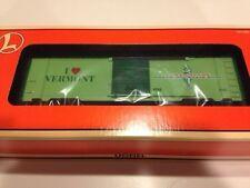Lionel # 19969 I LOVE VERMONT BOX CAR NIB