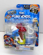 2013 The Smurfs SWAPPZ App Game Collectables CLUMSY SMURF - New MISB