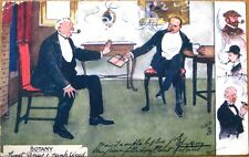 Lance Thackeray/Artist-Signed 1907 Tuck 'Botany' Postcard: Sweet Briar/Rank Weed