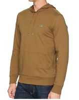 Lacoste Men Casual Lightweight Jersey Pullover Hoodie Sweater Top Shirt Green