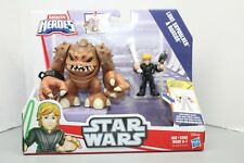 Playskool Star Wars Galactic Heroes New Release Rancor Jedi Luke Skywalker