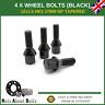 4 x Black Wheel Bolts M12X1.5 Nuts For BMW 1 Series E81/E82/E87/E88