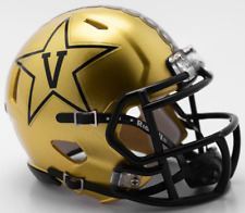 VANDERBILT COMMODORES NCAA Riddell SPEED Authentic MINI Football Helmet