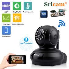 1080P Sans Fil WIFI CCTV IP Caméra Sécurité Vidéo Surveillance 2.0MP Moniteur FR
