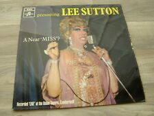 gay LP queer UK 60s comedy drag queen female impersonator LEE SUTTON A Near Miss