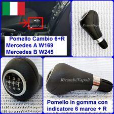 IMPUGNATURA POMELLO LEVA CAMBIO 6 MARCE MERCEDES CLASSE A W169 e CLASSE B W245