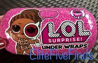 LOL Surprise UNDER WRAPS Eye Spy Series 4 WAVE 2 Doll Capsule Big Sister