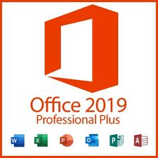 Microsoft Office 2019 Professional Plus / 32 & 64 Bit / Vollversion / Lizenz Key