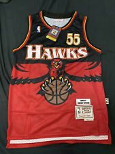BNWT Throwback Atlanta Hawks #55 Mutombo Nba Jersey Size S-XXL