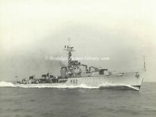 """PHOTOGRAPH OF  DESTROYER H.M.S."""" CREOLE"""" by BEKEN of COWES"""