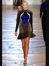 Stella McCartney Antonella runway designer dress mini BNWT f/w12, IT 42 UK 10/12