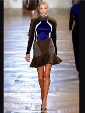 Stella McCartney Antonella runway designer robe mini BNWT f/w12, il 42 UK 12