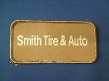 Smith Tire & Auto Logo Iron On Patch