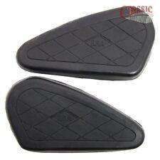 2 black rubber PETROL fuel gas TANK KNEE GRIPS BSA M20 M21 M23 kneegrips 65-8314
