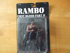"Rambo First Blood Part 2 (II) 7"" Figure in box Sylvester Stallone NEUF"