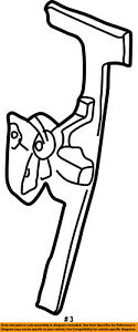 Jeep CHRYSLER OEM 2007 Liberty Front Door-Window Lift Regulator 4589265AD