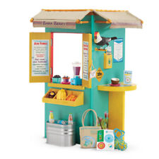 "American Girl LE LEA FRUIT STAND for 18"" Doll Lea's Clark Food Hut Furniture NEW"