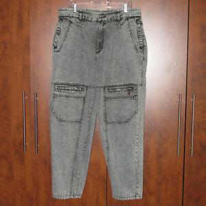 Vtg Men's 1980's 1990's Lee Navigation Acid Washed Tapered Jeans 36 x 31, EUC