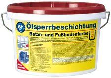 (8,64€/L)Pufas fix 2000 Ölsperrbeschichtung Betonfarbe Fußbodenfarbe rotbraun 5l