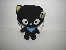"Sanrio Hello Kitty Black Chococat Plush Cat Doll NWT w Tag 2011 12"""