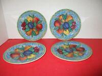 "Victoria & Beale 9024 FORBIDDEN FRUIT 7 3/4"" Salad / Dessert Plates (4)"