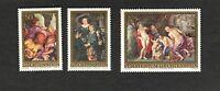 1974 Liechtenstein SC #595-97 PAINTINGS BY PETER PAUL RUBENS MNH stamps