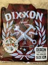 Dixxon Flannel Oxblood Extra Large XL! Sold Out!