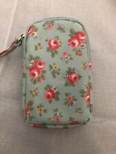 Cath Kidston Universal Gadget/Phone/Camera Pouch Case Lucky Rose Oilskin - Used