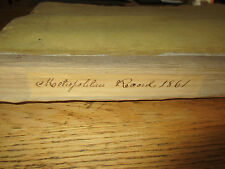 Civil War Lincoln Message in Metropolitan Record New York 50 numbers 1861