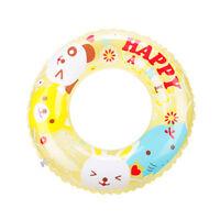 Baby Kids Adult Float Ring PVC Inflatable Swim Swimming Ring Pool Water Fun HD