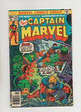 Captain Marvel #46 - 1st 30 Cent Issue - (Grade 5.0) 1976