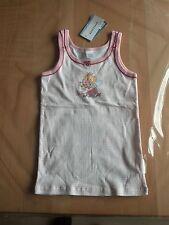 1 neues Unterhemd Unterwäsche von Schiesser in Größe 140 rosa weiß Lillifee