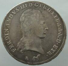"Francescone da 10 Paoli 1799 Grand Toscana Ferdinando III variante ""ETR"" RARA R3"