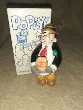 Popeye Wimpy Ornament 1987 - Kfs