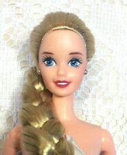 NUDE Barbie Doll : SUPERSTAR Face : LONG Braided : TNT : OOAK : UNBOXED