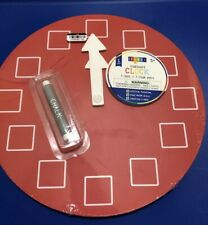 "Chalkboard Wooden Clock 10"" with Chalk by Horizon Group Activities Children"