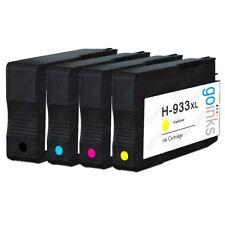 4 Ink Cartridges (Set) for HP Officejet 6100 6600 6700 7110 7510 7610 7612