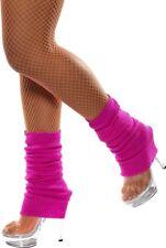 Hot Pink Leg Warmers 1970's 1980's Smiffy's Fancy Dress Accessory