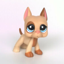 Littlest Pet Shop LPS Toy #1647 Animal Collection Light Tan Great Dane Dog Puppy