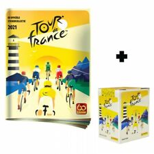 Panini tour de france 2021 stickerbox + Album (Version Belgium)