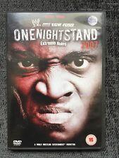 WWE - One Night Stand 2008 (DVD, 2008)