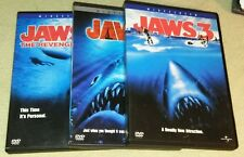 Jaws 1 2 3 Films  dvd